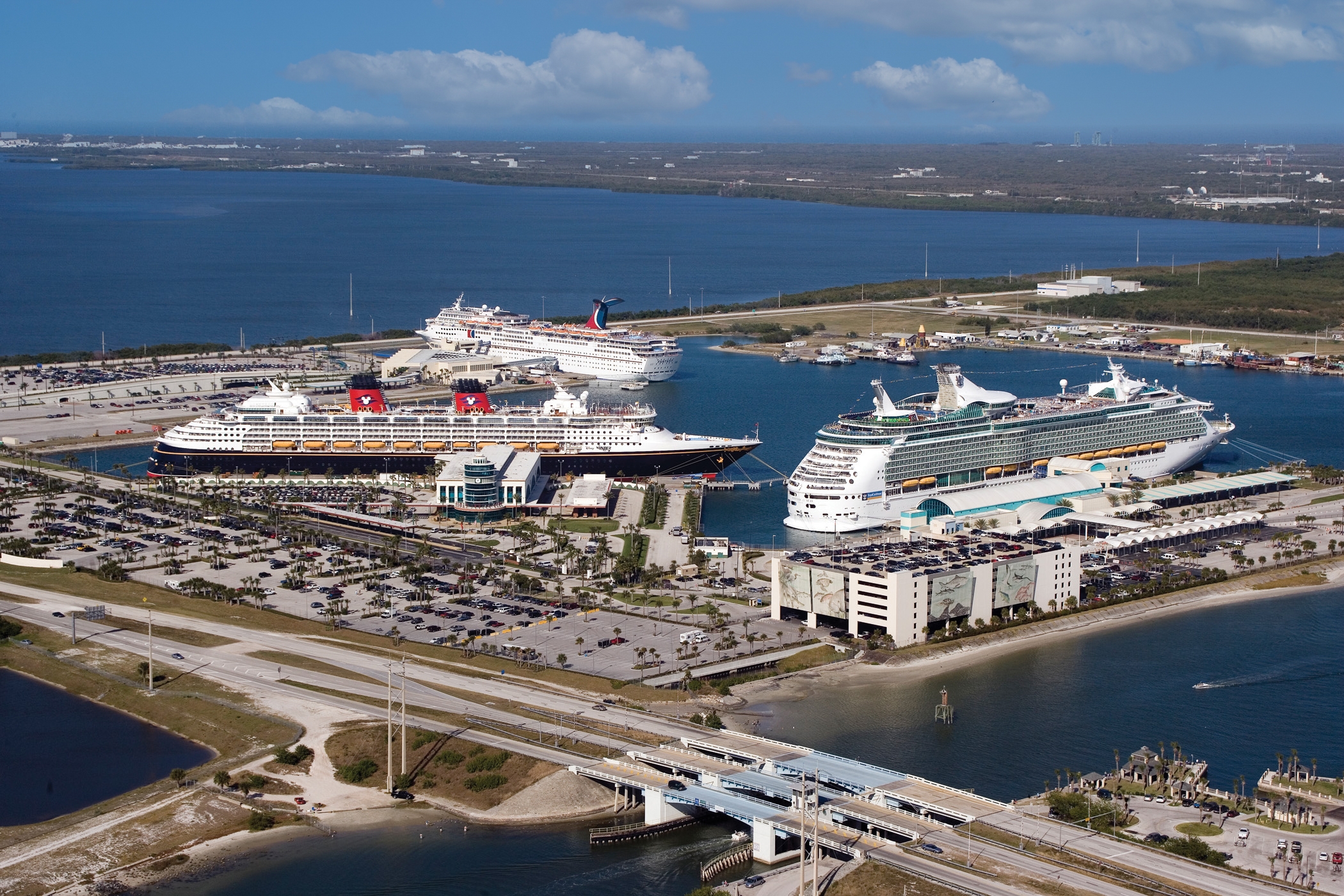 port canaveral overhead
